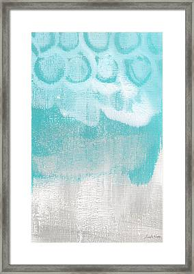 Like A Prayer- Abstract Painting Framed Print by Linda Woods