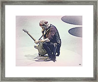 Like A Rolling Stone Framed Print by Sue Rosen