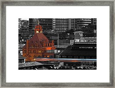Like A Speeding Bullet Framed Print by Tim Wilson