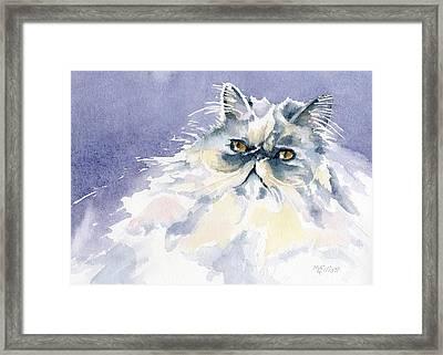 Like Cotton Candy Framed Print by Marsha Elliott