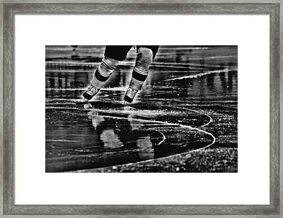 Like Glass Framed Print by Karol Livote