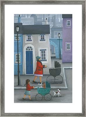 Like Mother Like Daughter Framed Print by Peter Adderley