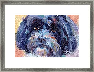 Lilli All Growed Up Framed Print by Kimberly Santini