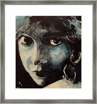 Lillian Gish  Framed Print by Paul Lovering
