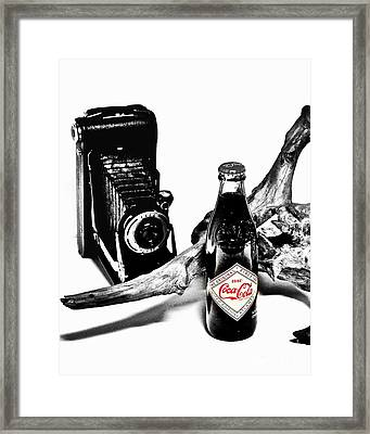 Limited Edition Coke - No.008 Framed Print by Joe Finney