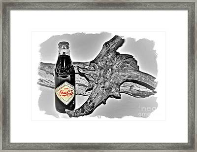 Limited Edition Coke - No.1130 Framed Print by Joe Finney