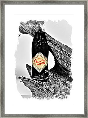 Limited Edition Coke - No.15 Framed Print by Joe Finney