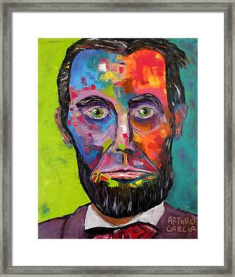 Lincoln Framed Print by Arturo Garcia