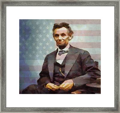 Lincoln Framed Print by Dan Sproul