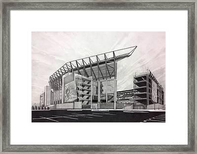 Lincoln Financial Field Framed Print by Gary Reising