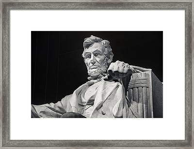 Lincoln Framed Print by Joan Carroll
