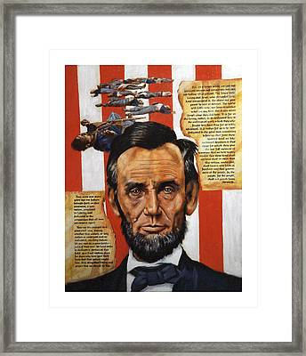Lincoln Framed Print by John Lautermilch