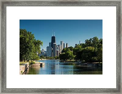 Lincoln Park Chicago Framed Print by Steve Gadomski