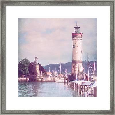Lindau Framed Print by VIAINA Visual Artist