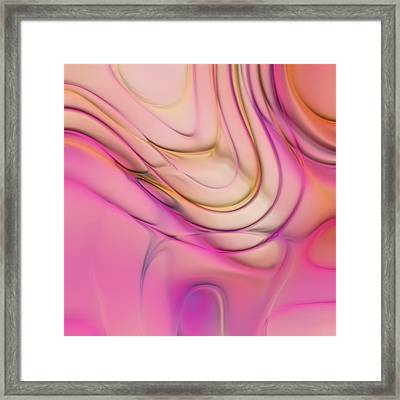 Lines And Circles 02 - P2c4a Framed Print by Variance Collections