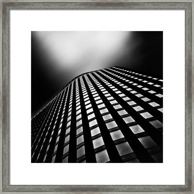 Lines Of Learning Framed Print by Dave Bowman