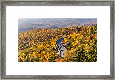 Linn Cove Viaduct On The Blue Ridge Parkway Framed Print by Pierre Leclerc Photography