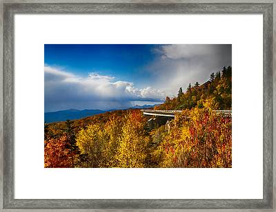 Linn Cove Viaduct Photograph Framed Print by John Haldane