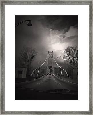 Lion's Gate Framed Print by Janet Kearns