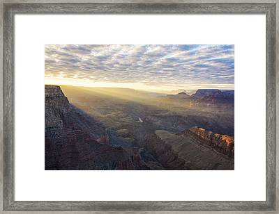 Lipon Point Sunset - Grand Canyon National Park - Arizona Framed Print by Brian Harig