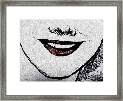 Liposuction Successful  Framed Print by Sir Josef - Social Critic - ART