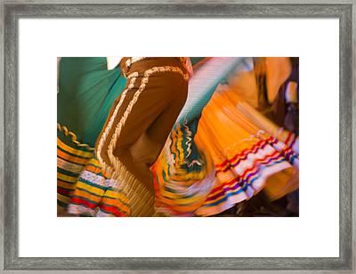 Liquid Color Framed Print by Barbara Grist