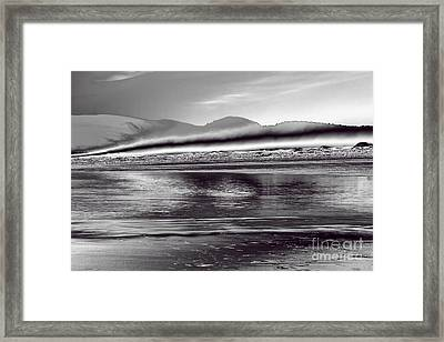 Liquid Metal Framed Print by Jon Burch Photography