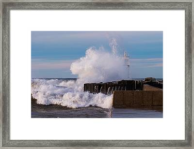 Liquid Thunder Framed Print by James Marvin Phelps