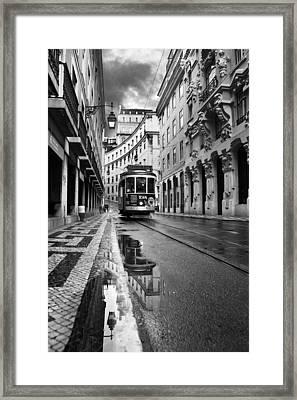 Lisbon Framed Print by Jorge Maia