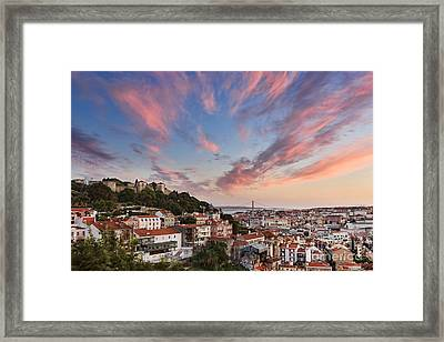 Lisbon Framed Print by Rod McLean