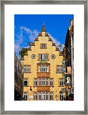 Lisle Street Framed Print by Christi Kraft