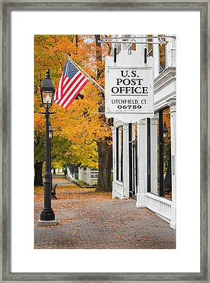 Litchfield Connecticut Framed Print by Bill Wakeley