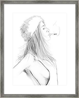 Little Bit Framed Print by Jason Longstreet