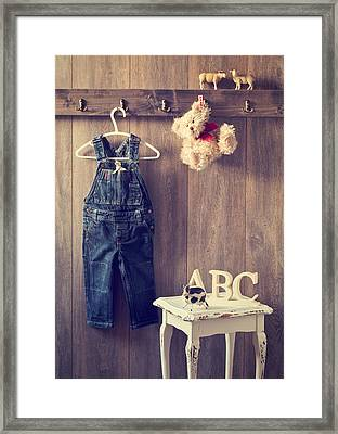 Little Boy's Bedroom Framed Print by Amanda And Christopher Elwell