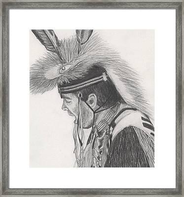 Little Creek Framed Print by Lew Davis