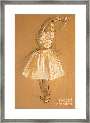 Little Dancer Framed Print by Edgar Degas