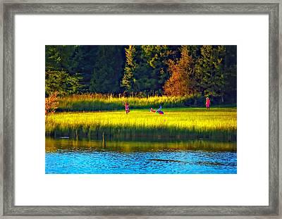 Little Dreamers Framed Print by Steve Harrington