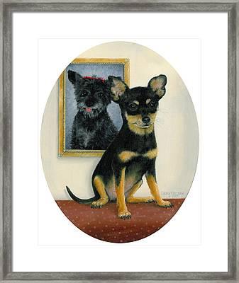 Little Friends Framed Print by Doug Kreuger