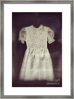 Little Girl Lost Framed Print by Trish Mistric