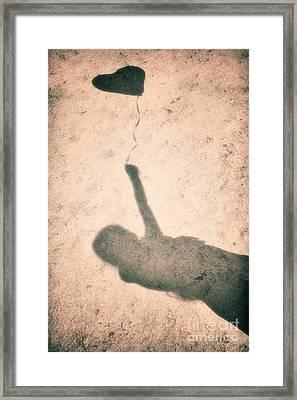 Little Heart Framed Print by Tim Gainey