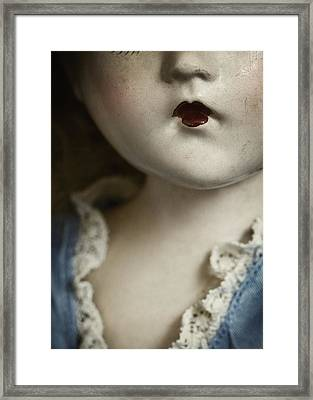 Little Lady  Framed Print by Amy Weiss