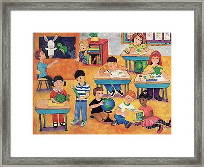 Little Learners Framed Print by Peggy Johnson