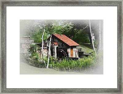 Little Mill Eastern State College - Faded Framed Print by Bill Cannon