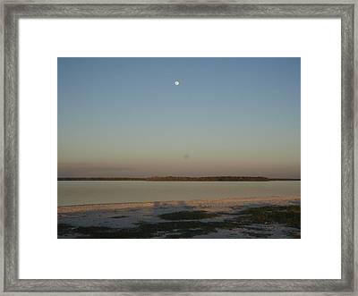 Little Moon Framed Print by Robert Nickologianis