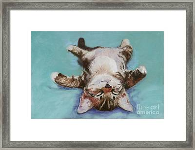 Little Napper  Framed Print by Pat Saunders-White