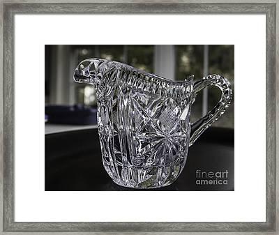Little Pitcher Framed Print by Arlene Carmel