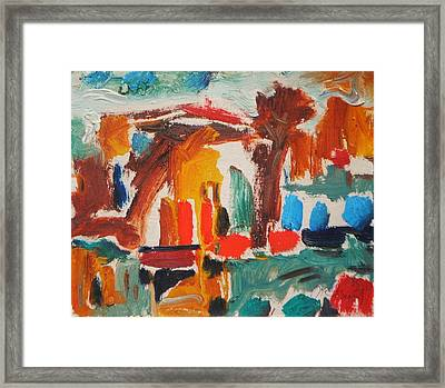 Little Summer House Framed Print by Ivan Filichev