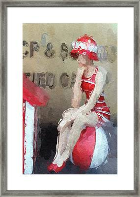 Little Toy Shop Princess Framed Print by Stefan Kuhn