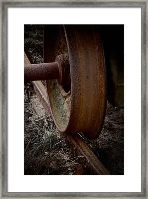 Little Wheel Framed Print by Odd Jeppesen