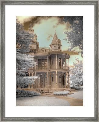 Littlefield Mansion Framed Print by Jane Linders